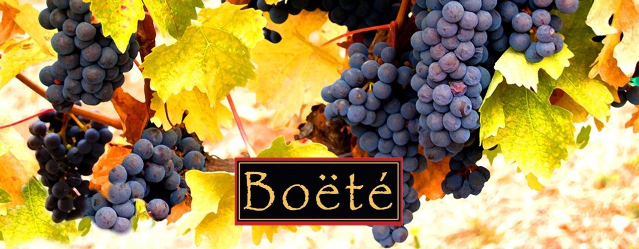 boete_wine landing page