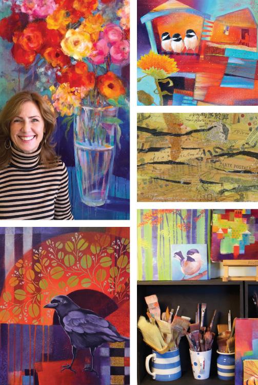 Carmel Valley Local Fine Artist Deborah Russell
