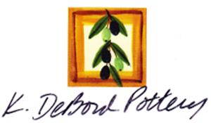 K. DeBord Pottery Logo