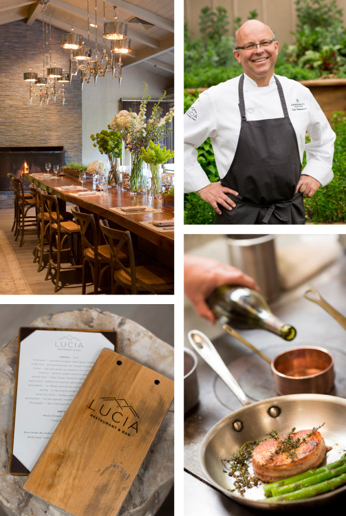 Lucia Restaurant and Bar at Bernardus Lodge and Spa