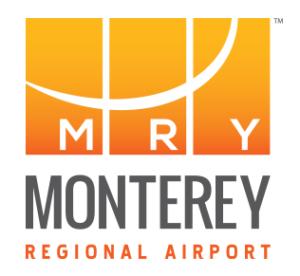 Monterey Regional Airport Logo