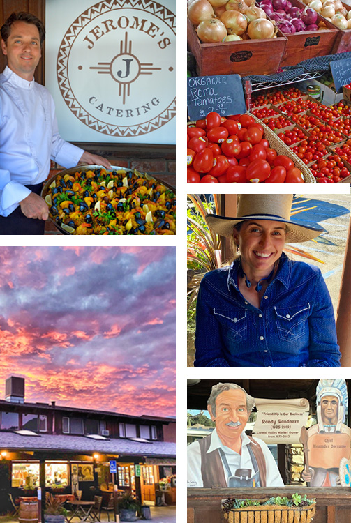 Photo Collage of Jerome and his Carmel Valley Market